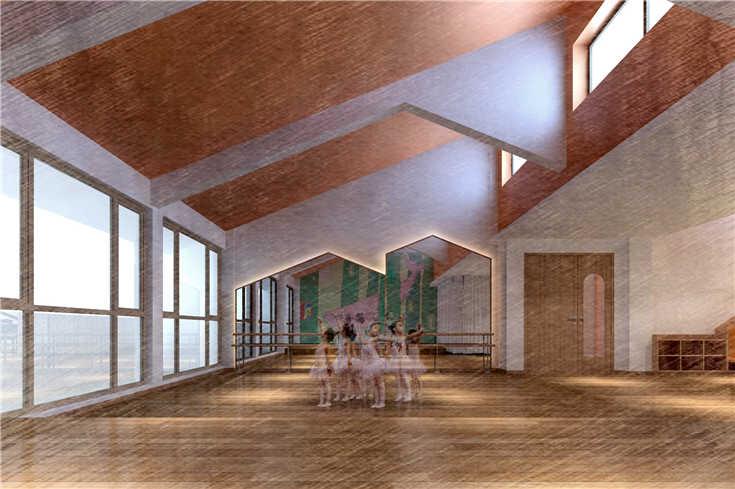 幼儿园教室长方形柱子装饰