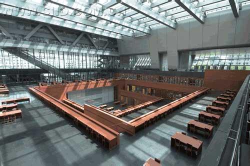 中国室内设计网 - 新闻 - 国家图书馆新馆开馆