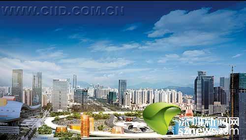"""作为代表深圳未来城市形象的重要""""地标"""",市中心""""水晶岛""""(原名)的设"""
