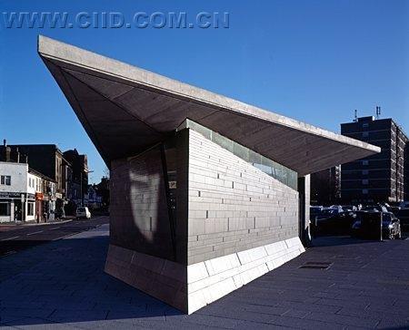 Public bathroom design architecture